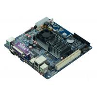 China Onboard Atom D525 2 COM , 8 USB MINI ITX Industrial Motherboard VGA / LVDS double display wholesale