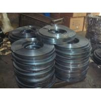 China cold - rolled electrical heat Prime packing Blue Steel Packing Strip / Strap wholesale