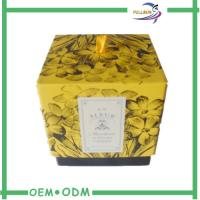Quality Commercial Packaging Decorative Candle Packaging Boxes With Ribbon for sale