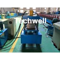 China Custom Made Half Round Gutter Cold Roll Forming Machine For 15 Stations Forming Stage wholesale
