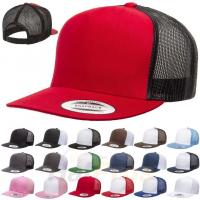 Buy cheap Plastic Closure Mesh Trucker Hats Blank 5 Panel Colorful Snapback Cap Cotton from wholesalers