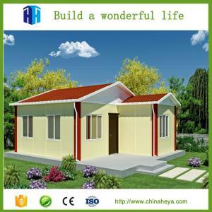 China Prefab house design plans modular prefabricated tiny house for village wholesale
