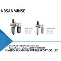 China Professional SFC FRL Pneumatic Industrial Air Filter Regulator And Lubricator wholesale