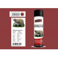 China Xiali Red Color Marking Spray Paint Evaluate For Respiratory Distress wholesale