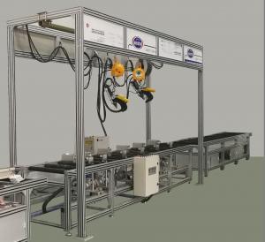 Buy cheap Manual Busbar Machine Busbar Fabrication Machine Assembly Line from wholesalers