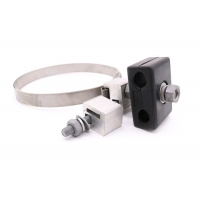 China Stainless Steel Adss Opgw Rubber Down Lead Clamp wholesale