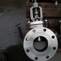 China Stem Cast Steel Globe Valve For Flow Control CF8 CF8m RF Flanged To Class Ansi 300lb on sale