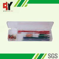 China Pre - Cut 140 Strips Breadboard Jumper Cables Box With Copper Clad Aluminum Conductor wholesale