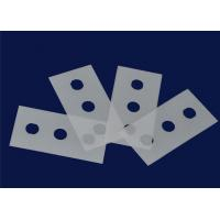 China 1 Mm Thickness Zirconia Plate Alumina Ceramic Plate With Machined Hole Type on sale
