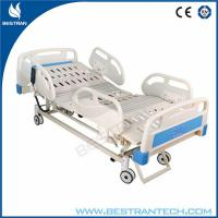 China Fully ICU Electric Hospital Beds For Patient With ABS Soft Joint Bedboard wholesale