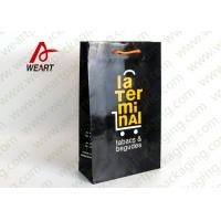 China Eco Friendly Yellow Art Paper Bags Customized Size Storage Used wholesale