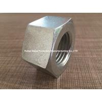 China Mechanical Machine Steel Hex Nuts M24 Size White Color With High Strength wholesale