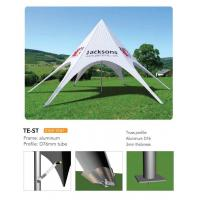 Quality Outdoor Personalized Canopy Tents , Foldable Star Custom Printed Pop Up Tents for sale