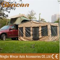 China anti-water 4 square meter Roof Top Tent , Special house dutch awning wholesale