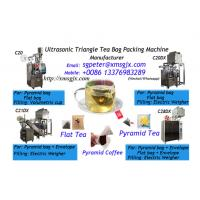 China ultrasonic pyramid tea bag packing machine with inner bag and outer envelope wholesale