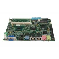 China Intel® J1900 CPU 3.5 inch Embedded Motherboard support VGA / HDMI / LVDS wholesale