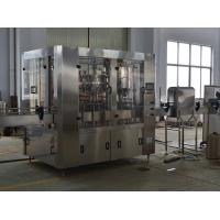 China Electric Wine Beer Filling Equipment Unit , 3 in 1 Water Bottle Filling Machine wholesale