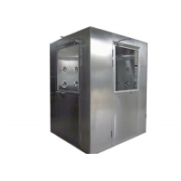 China Customized Anti Static 2000M3/H SUS 304 Air Shower Room wholesale