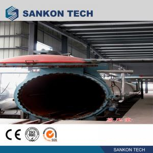 China Working Pressure 1.6MPa Autoclave AAC Block Plant Machinery wholesale