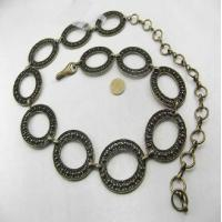 China lead S, M, X around 100cm fabric accessries bronze Chain Bracelets For Women on sale