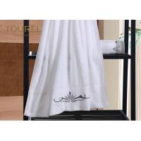 China 5 Star Hotel Towels White Color Bath Luxury Hotel Collection Towels wholesale