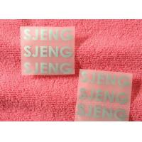 China 1mm Thickness 3D Silicone Heat Transfer Clothing Labels For Sportwear wholesale