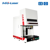 China 30W 50W Color Laser Marking Machine for Stainless Steel wholesale