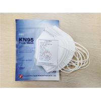 China Nonwoven KN95 Disposable Protective Mask 4 Layers Civil Respirator Mask wholesale