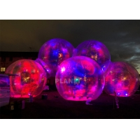 China Commercial PVC Dazzle Alien Inflatable Balloon LED Lighting wholesale