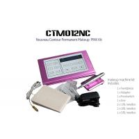 China Professional Pink Digital Permanent Makeup Machine Kit For Eyebrow wholesale