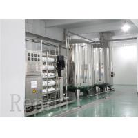 China RO Drinking Water Treatment System , Mineral Water Treatment Equipments wholesale