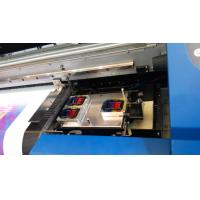 China 7703L Large Format Printer with 3 pcs DX7 printhead 3.2m in width for Ceiling Film and Flex Banner wholesale