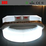 China Hot sale newest design modern led light bed wholesale