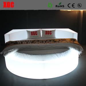 Bedroom furniture sets LED lighting bed