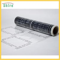 China No Residue Adhesive Stair Protection Film , Plastic Floor Protector Roll LOGO Printable wholesale