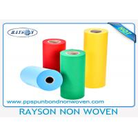 China Blue Polypropylene Spunbond PP Non Woven Fabric 10 - 150gsm For Medical wholesale