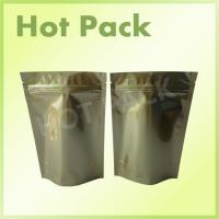 China Gold Printed Stand Up Aluminum Foil Packaging Bags For Pet Food Packaging wholesale