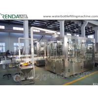 China Beer Washing Filling Capping 3-in-1 Carbonated Glass Bottle Filling Machine wholesale
