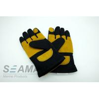 Quality Fire Retardant Aramid Fiber Leather Fireman Protective Gloves Fire Fighting Equipments for sale