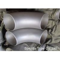 China 1/2'' - 80'' Stainless Steel Pipe Fittings Seamless Short Radius 90 Degree Elbow wholesale