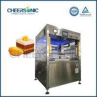 Buy cheap CE Powerful Ultrasonic Food Cutting Machines For Cutting Red Velvet Cake from wholesalers