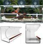 China window bird feeder/clear window bird feeder/acrylic window bird feeder wholesale
