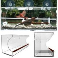 China window bird feeder/clear window bird feeder/acrylic window bird feeder wholesale