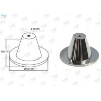 China Chrome Finished Ceiling Cable Hanging System Brass Ceiling Mounting Base wholesale