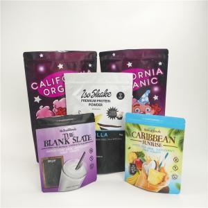 China Custom Printed Snack Food Packaging Bags Aluminum Foil Milk Powder Pack With Zipper wholesale