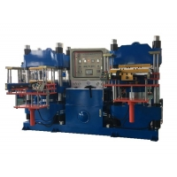 China Double Working Efficiency Brake Pads Molding Machine on sale