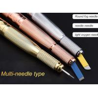 China Multifunctional Double Head Manual Tattoo Pen Diamond Mental Eyebrow Tattoo Pens wholesale