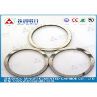 China Tungsten carbide sealing rings  Polished or as-sintered  YG8 / YN8 wholesale