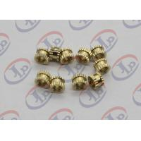 China CNC Lathe Machine Parts,Brass Plastic Inserts With M5 Internal Thread wholesale