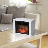 China Protable electric fireplace  EF480 MINI room Heater white housing 1000W CHINA MANUFACTURER CE/GS APPROVAL wholesale